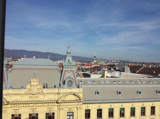 Esplanade Zagreb Hotel: view of old city