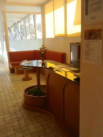 Hotel Formentin : reception spa