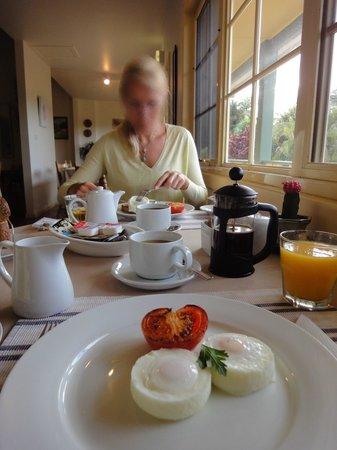 Riverview Boutique Motel : Beim Frühstück
