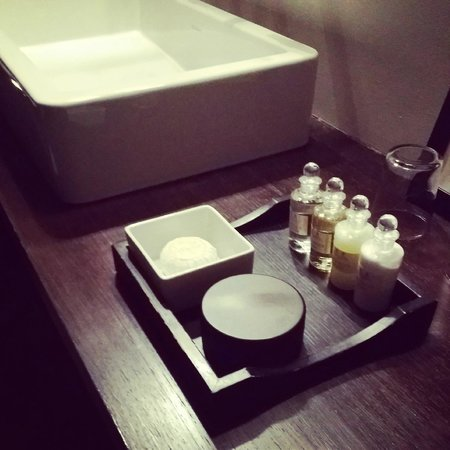 Chez Odette : Nice complimentary smellies