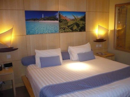 Le Lagon Hotel: chambre