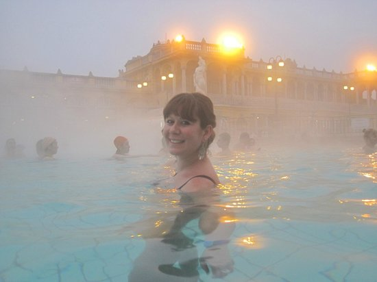 Széchenyi Baths and Pool: e chi esce da qui...