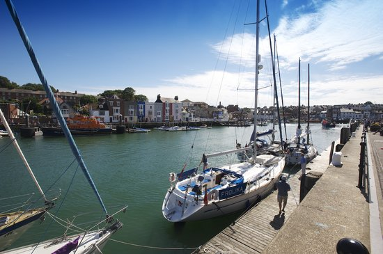 The Fairhaven Hotel: Weymouth Harbour (2 mins walk from hotel)