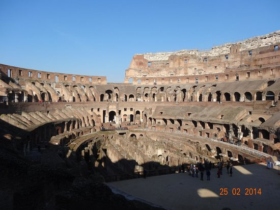 Private Tours of Rome - Vatican, Sistine Chapel and Colosseum Tours : Colosseum