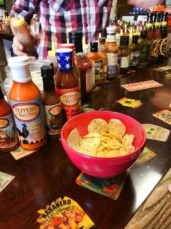 Peppers of Key West: Fun and tasty hot sauce tasting