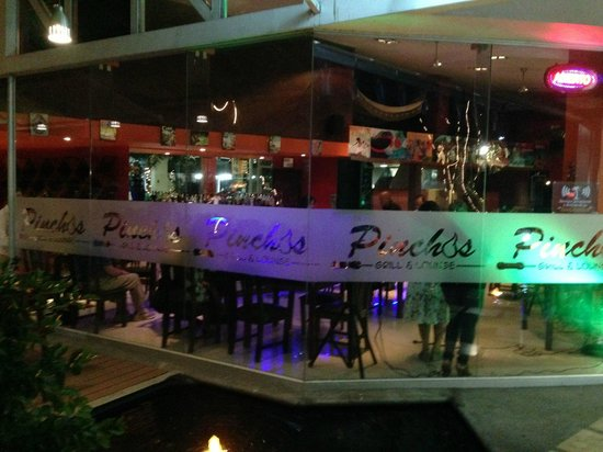 Pinchos Grill & Lounge: Exterior of Pincho's