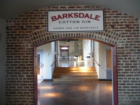 B.B. King Museum and Delta Interpretive Center: L'ala dell'edificio ricavato dal cotton gin dove ha lavorato BB King