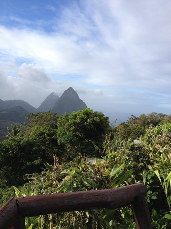 Crystals St Lucia: Petite Piton