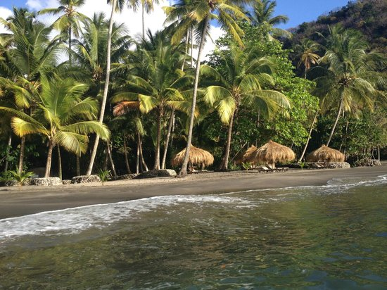 Crystals : Our favorite beach, Anse Mamim