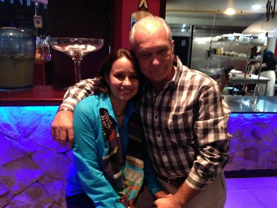 Pinchos Grill & Lounge: Owners Nereyda and Arturo