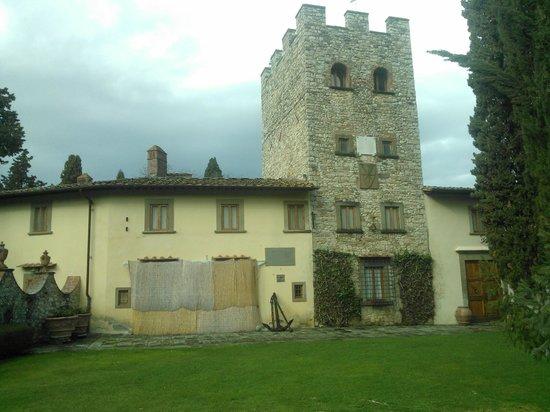 Castello di Verrazzano: Castello