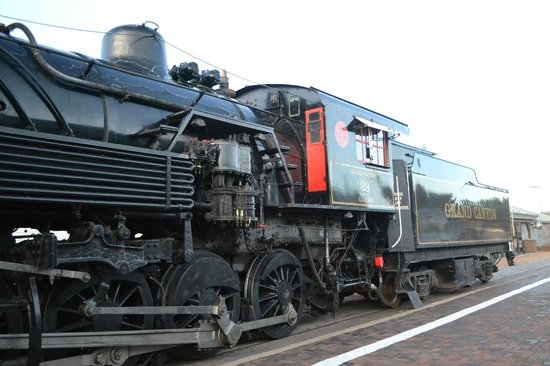 Grand Canyon Railway: Locomotora