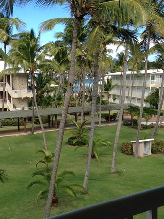 Sirenis Punta Cana Resort Casino & Aquagames: View from Our Room