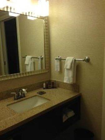 Washington Dulles Marriott Suites: Vanity Area