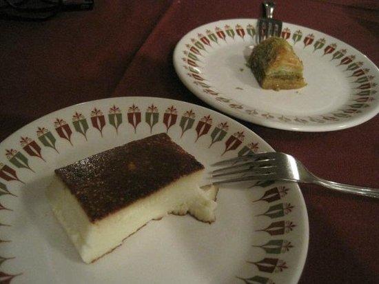 Saray Turkish Kitchen: Kazanbasi custard sweet