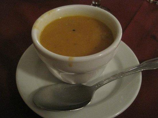 Saray Turkish Kitchen: Lentil soup was good, cream base