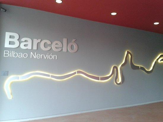 Barcelo Bilbao Nervion : Entrada hotel