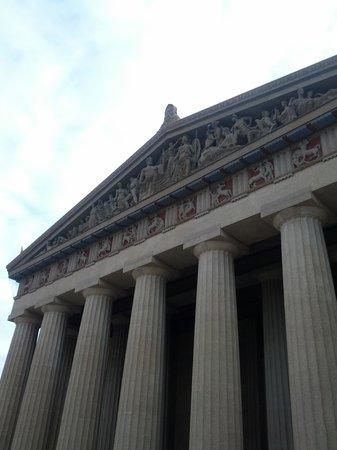 The Parthenon : Pediment