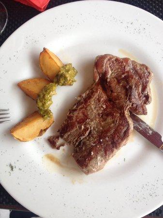 Taberna La Viña E: Carne roja a la plancha (menu)