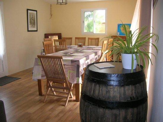 La PaViere : salle à manger