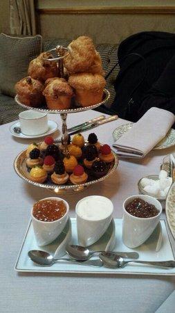 El Palace Hotel : Completo Afetrnoon Tea