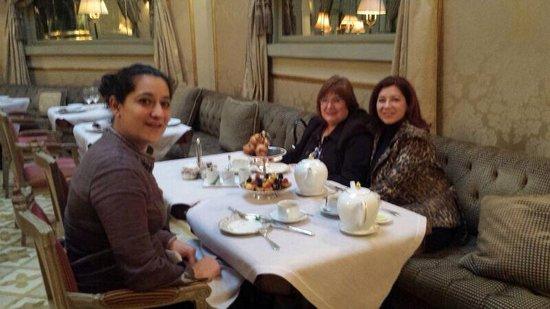 El Palace Hotel : Un tarde muy especial, un momento british