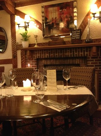 A cosy night in the Main Dining Room