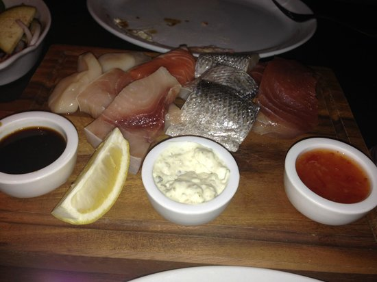 Chapman's Seafood Bar & Brasserie: Sauces for your fish