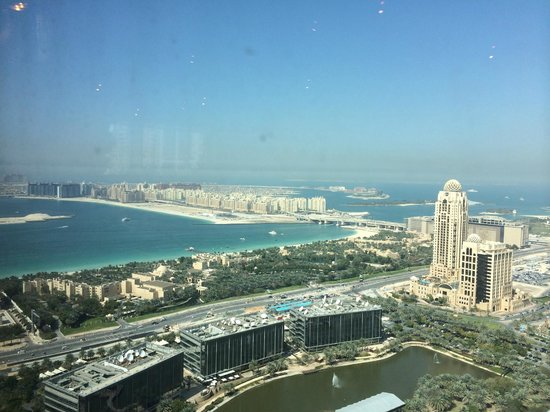 Media One Hotel Dubai: View from the 43 floor restraunt