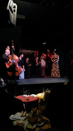 Cardamomo Tablao Flamenco : show