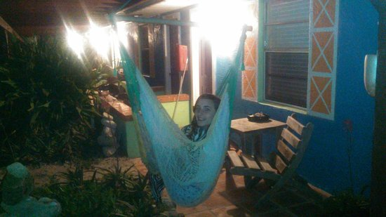 Si Como No Inn: hammock outside room