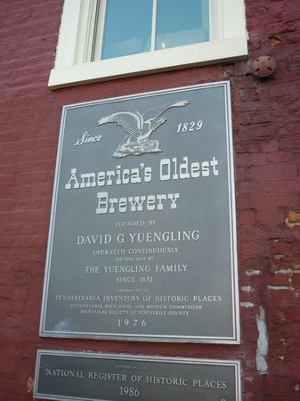 D.G. Yuengling and Son Brewery: Yuengling Factory