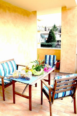 Amarcord Bed and breakfast: terrazza