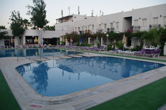 Baba Hotel: Swimming pool view