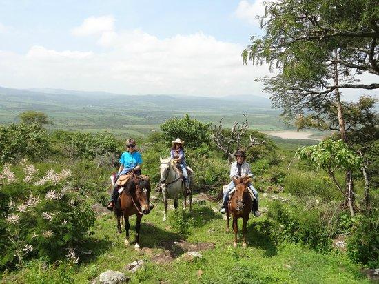 Hacienda de Taos: scenery