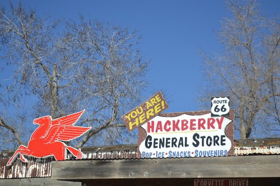 Route 66: Hackberry General Store