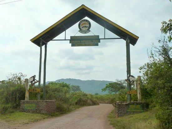 Arusha National Park: ingresso arusha N.P.