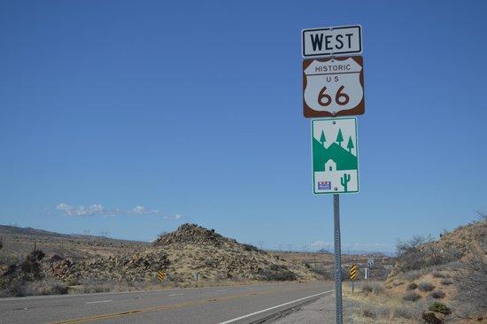Route 66: Cartel de la ruta 66