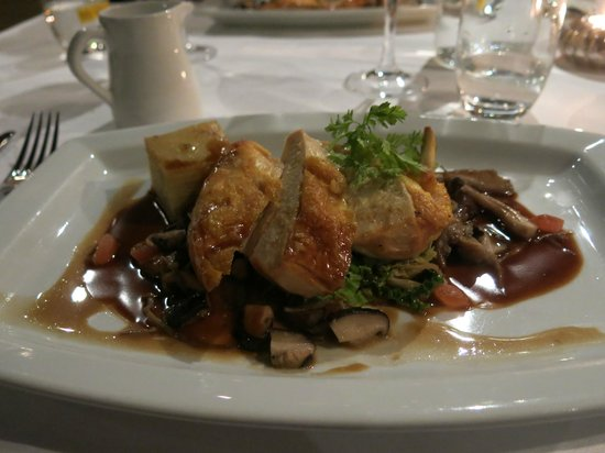 Stockbridge Restaurant: chicken