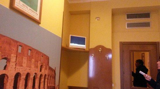 Hotel Argentina : La camera
