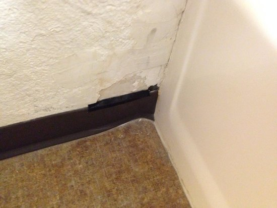 Motel 6 Phoenix Tempe - Broadway - Asu : I'm sure one of the many enter/exits for the roaches in our room