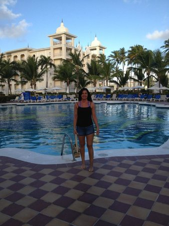 Hotel Riu Palace Punta Cana: another shoot of pool area