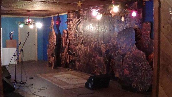 Club Ebony: Lo stage