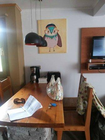 Kurtem Lodge: Bello comedor con detalles