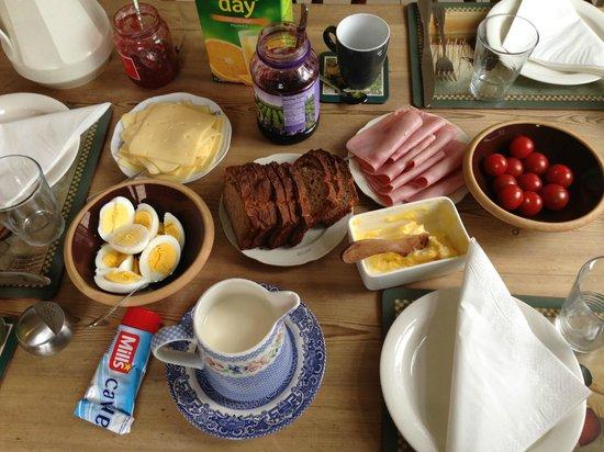 Edda's Farmhouse in Town : Edda's breakfast
