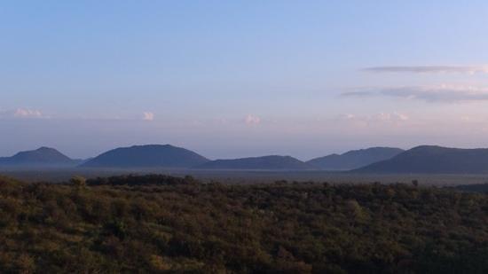 Buffalo Ridge Lodge : view from the ridge