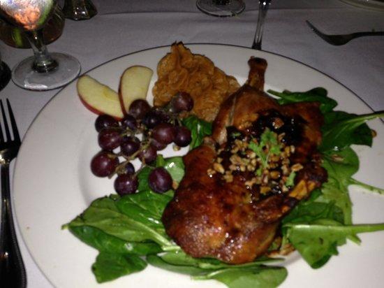 Irene's Cuisine : Duck...nice presentation.