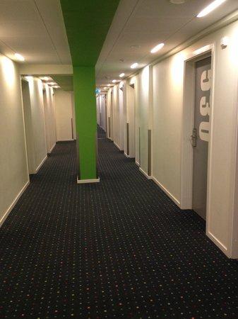 Generator Copenhagen : corridoio camere