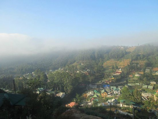 Misty Mountain Villas: View from our bedroom