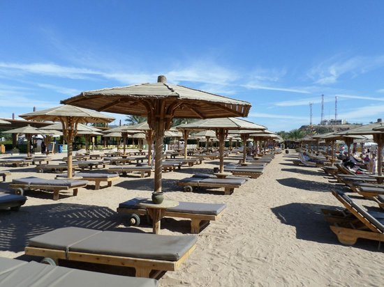 Sharm El Sheikh Marriott Resort: spiaggia